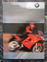 BMW 2001 FULL LINE BROCHURE...PRICE GUIDE....POSTER