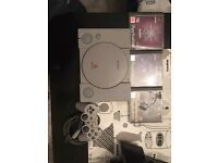 Ps1 console and games