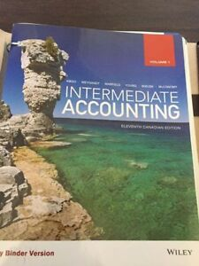 Intermediate Accounting Textbook (MSVU)