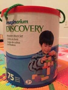 Discovery wooden block set