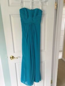 Teal Blue Bridesmaids Dress