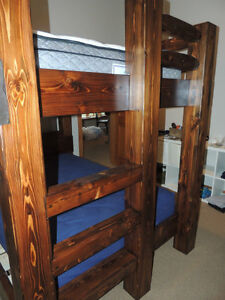 Hand crafted Timber bunk beds in Fanny bay Comox / Courtenay / Cumberland Comox Valley Area image 4