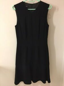 Black dress-made in Canada