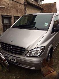 Mercedes 9 seater Vito rare