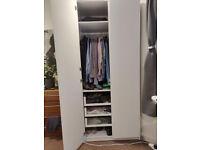 Ikea PAX wardrobe 100x58x236