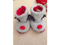 Christmas slippers - children's size 5 - toddlers