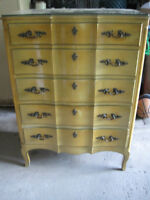 Bedroom Set French Provincial 6 Pices