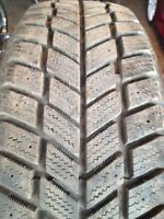 3 HANKOOK I PIKE ICE SNOW 195 60 15 WINTER HIVER ALMOST NEW
