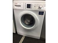 Bosch washing machine 6 month warranty free delivery free fitting