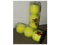 New 1 X Pack of 3 yellow balls CA Mani Cricket Tennis From Pakistan UK Stock
