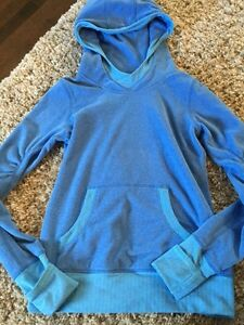 Ivivva by Lululemon Huddle Blue Fleece Pullover Youth Sz14
