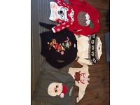 Adult and children's Christmas jumpers