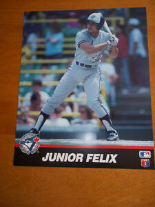 """Official MLB 8"""" x 10"""" Photos of 1989 Toronto Blue Jays Players"""