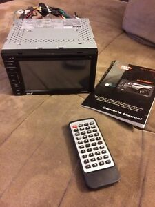 Touchscreen DVD receiver
