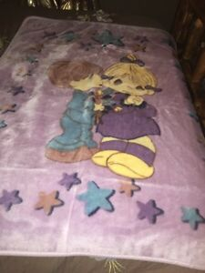 Precious Moments plush blanket