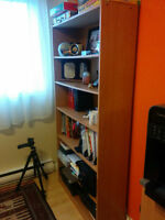 Bookcase + Working desk ONLY $100