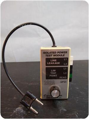 Dynatech Nevada 202a Isolated Power Test Module 232110