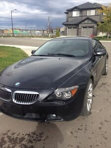 2007 BMW 650i E63.Excellent Condition. PRICE lowered. MUST GO!!