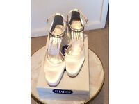 Lovely Bridal Shoes size 4