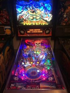No fear pinball for sale or trade.