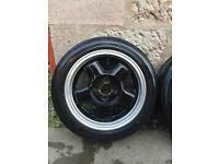 Schmidt Modernline Wheels & Tyres - 4x100 Golf Polo Lupo Corsa Civic Track Stance Low