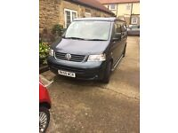 Vw t5 camper lwb low miles and lots of amazing features 4birth