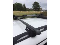 Halfords roof bars and bike rack