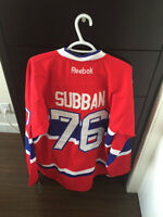 PK SUBBAN JERSEY - BRAND NEW, NEVER WORN. ORIGINAL TAGS STILL ON