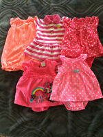 Baby girls summer outfits 0-3 months
