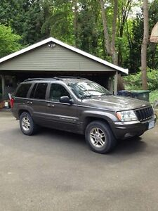 1999 Jeep Grand Cherokee SUV Limited V8