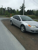 2007 Saturn ION SILVER Coupe (2 door)