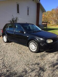 2003 Volkswagen golf manual 210,000kms 2.0L gas