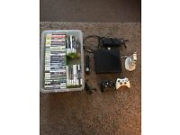 Xbox 360 500GB console and 50 games