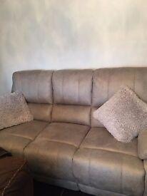 brand new 3 +2 seater sofas