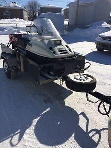 Remorque 4x8 dompeur *negociable* Saguenay Saguenay-Lac-Saint-Jean image 1