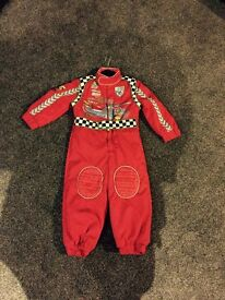 Disney cars suit age 2/3 years