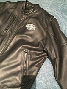 Harley Davidson Leather Jacket Mens XL West Island Greater Montréal image 3