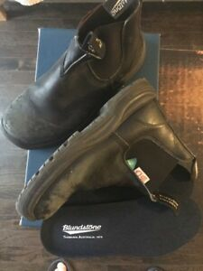 Blundstone Black Steel Toe (Aus5.5) $25