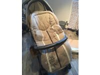 Mamas and Papas pushchair and footmuff