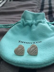 Authentic Return to Tiffany Earrings