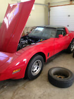 1980 Corvette 350CID 4 Barrel