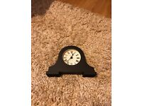 Jones & Co black mantle mantel clock