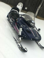 Looking to trade snowmobile for car or motorcycle