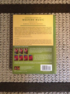 Selling Concise History of Western Music West Island Greater Montréal image 2
