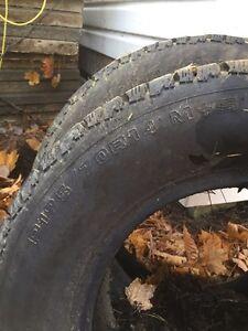 2 pneu winter Motomaster XGS 14 pouce  Gatineau Ottawa / Gatineau Area image 1