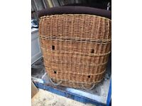 Hot Air Ballon basket Extra Large Log Basket for a hotel or Pub