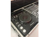 PIONEER CDJ 1000 MK3 DJM 600 IN FLIGHT CASE MINT