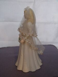 Music Box Blonde Haired Bride Figurine London Ontario image 3