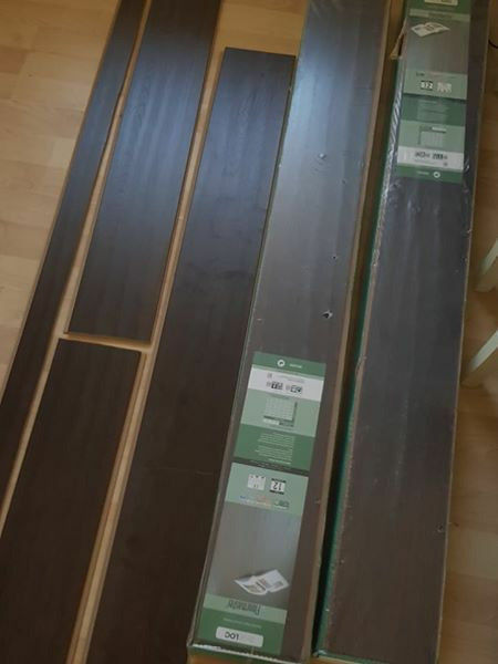 Floormaster Bevel Loc Dark Oak Effect Laminate Flooring In Poole
