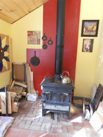 2 CSA approved wood stoves both work great!